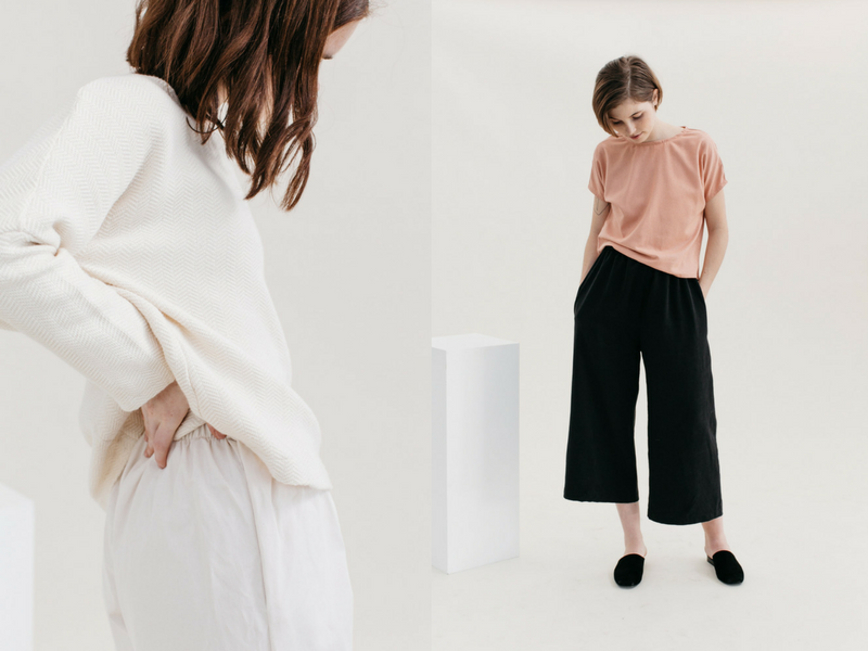 Two Fold, ethically made, capsule clothing, sustainable fashion