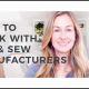 Cut and Sew Manufacturers